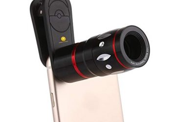 10X Telescope Mobile Phone Camera Lens – Black