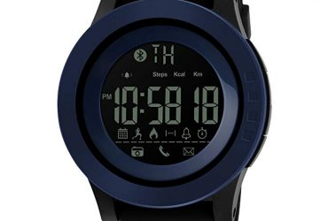 1255 – Black N/A Smart Watch for Men