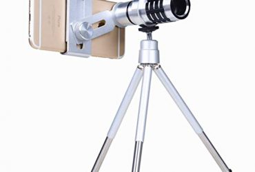 12X Telephoto Mobile Camera Zoom Lens – Silver