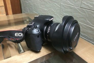 Canon 600D with 70-300 and flash Yn 565ex II