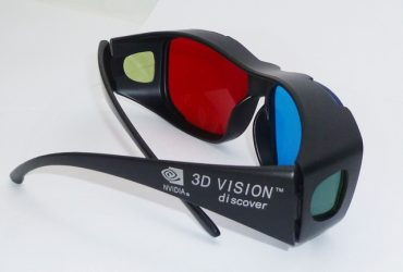 3D Vision Glasses Blue & Red for Movie, Games Images