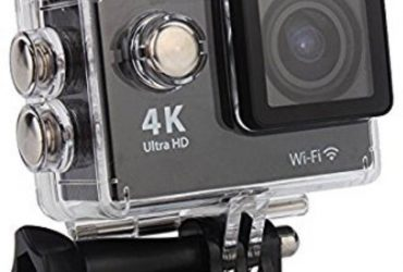 4K Wifi Action Camera 16 MP – Black and Silver