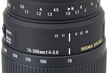 70-300mm f/4-5.6 DG Autofocus Lens for Nikon – Black