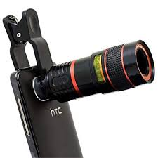 8X Telephoto Mobile Camera Zoom Lens