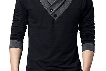 Black Cotton Long Sleeve