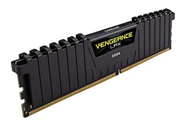 C16 Vengeance LPX DDR4 – 2400MHz – 4GB Memory Kit – Black