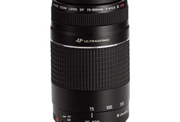 Canon 75-300mm F/4-5.6 III LENS – Black