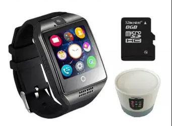 Combo OF TB-Q18 Smart Watch For Android Phone SIM Support+8G TF Card
