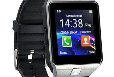 DZ09 Single SIM Smart Watch – Silver