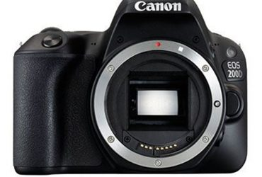 EOS 200D DSLR Camera (Body Only)
