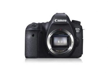 EOS 6D – DSLR Camera – 20.2MP – (Body Only)
