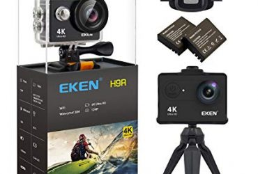 Eken H9R – 4K Wifi Action Camera with Remote – Black