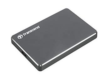 Extra Slim External Hard Drive – 1TB – Grey