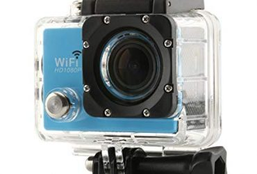 Full HD 1080P Sports Action Camera 12MP -Black