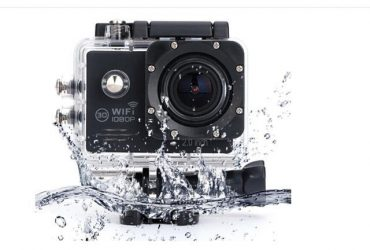 Full HD 1080P Sports Action Camera 12MP – Black