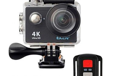 H9R – 4K Wifi Action Camera with Remote – Black and Transparent
