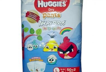 Huggies Dry Pants Angry Birds Limited Edition L (9-14 kg) – 52 Pcs