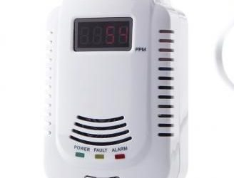 LPG Natural Gas Leak Detector – White