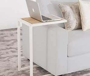 Laptop Table – White
