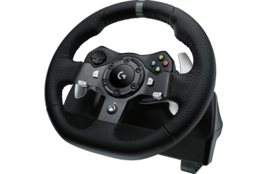 Logitech G G920 Driving Force game steering wheel (PC + Xbox One Compatible)