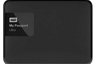 My Passport Ultra – Portable Hard Disk – 1TB – Black