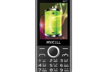 MyCell Mi77 – Black