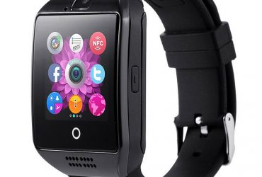 SIM Supported Smart Watch – Black