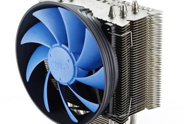Socket CPU Cooler – Black and Silver