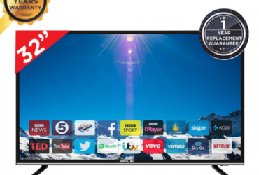 "Vikan Smart/wifi HD LED TV – 43"" – Blacksmile"
