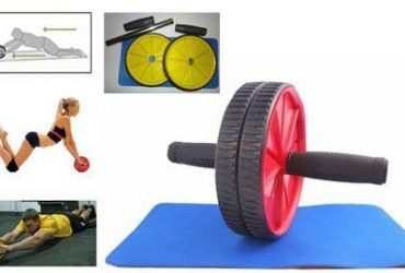 Total Body Fitness Double Roller Exercise Wheel