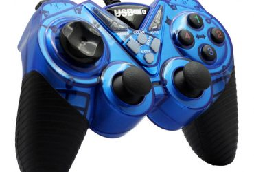 Usb Gamepad Double Shock Joystick Controller Dw003 – Black and Blue