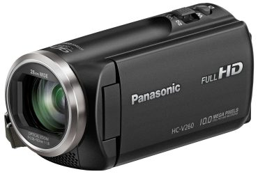 V260 Full HD Camcorder – Black