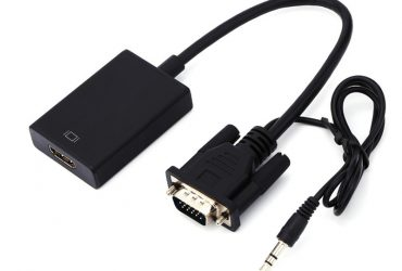 VGA To HDMI Adapter Output 1080P HD And USB Audio HDTV Video Cable Converter