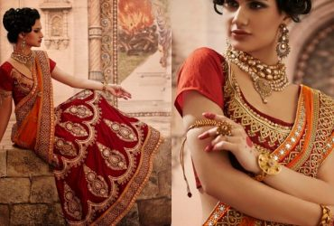 Bridal Lahenga Type Saree