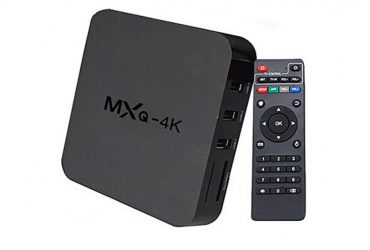 4K Android TV Box – Black