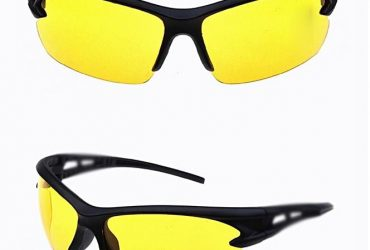 Bicycle Explosion-proof Glasses-Outdoor- Sun Glasses – Yellow