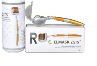 Derma Roller – 0.5 mm – Golden and White