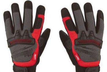 Gloves – Black and Red