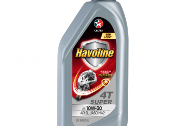 Havoline Super 4T SAE 10W 30 (API SL JASO MA2) – Motorcycle Engine Oil- 1L