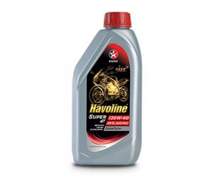 Havoline Super 4T SAE 20W 40 (API SL JASO MA2) – Motorcycle Engine Oil- 1L