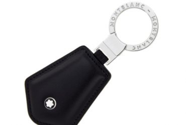 Leather Key Ring – Black