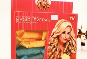 Magic Leverage Hair Roller and Curler – Multicolor