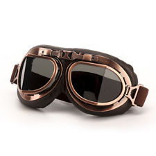 Motorcycle Goggles ( Vintage aviator pilot style)