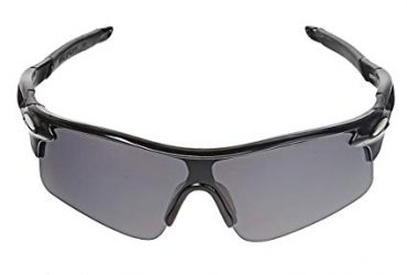 Outdoor Sports Cycling UV400 Protection Sunglasses – Black