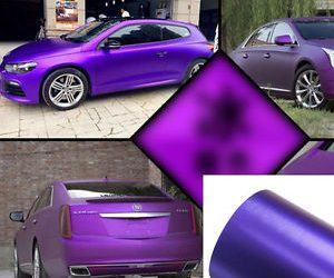 PVC Material Car Sticker – Purple
