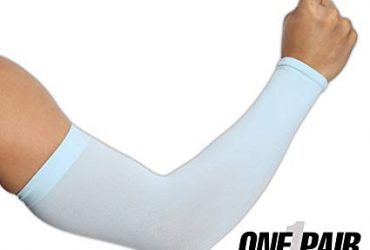Pack of 1 Pair Light Blue Arm Sleeve
