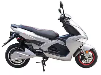 Private: King Fisher Electric Bike – Gray and Black