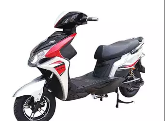 Exploit-504 – Electric Bike – 800W – Red and White