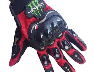 Monster Hand Gloves Full Finger – Red