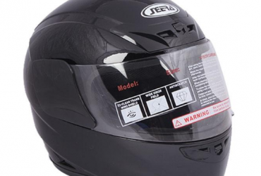 NMC-105 ABS Full Face Bike Helmet (Large) – Black